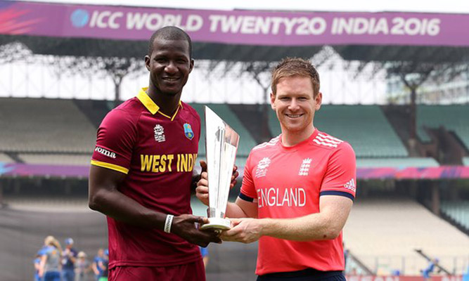 England v West Indies – World T20 final