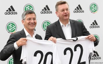 adidas deal with german football