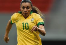 Brazil womens olympic football Marta