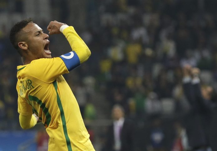 Brazil's Neymar sets record for fastest goal in Olympic