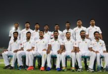 Bangladesh winning test team