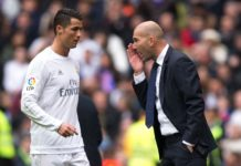 Ronaldo is angry but not anxious- Zidane