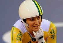 cycling queen Anna Meares