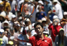 Nishikori beats wasteful Chardy