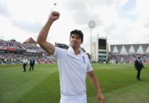 Alastair Cook steps down