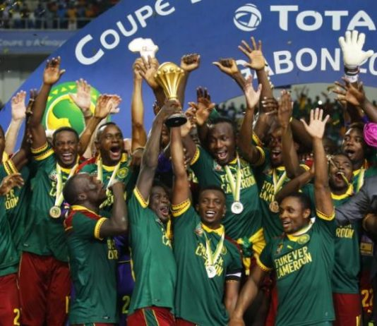 Cameroon lift Nations Cup