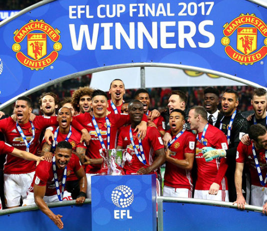 EFL-cup wins Manchester United