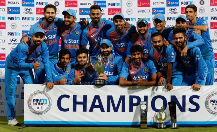India win Third and Final T20 series