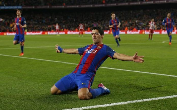 Suarez hero and villain as Barca reach Cup final