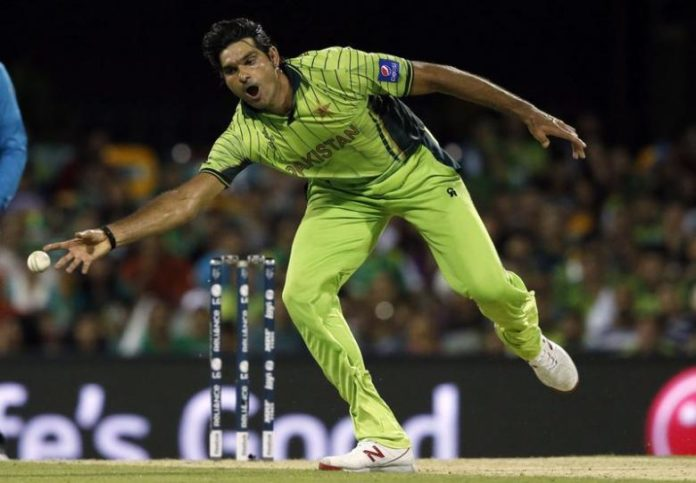 Pace bowler Mohammad Irfan