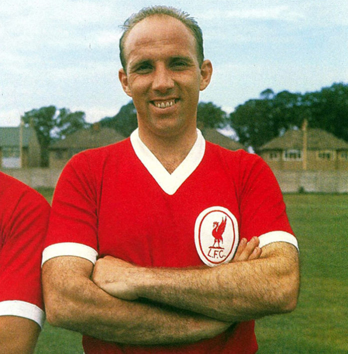 Football - Liverpool FC-Ronnie Moran