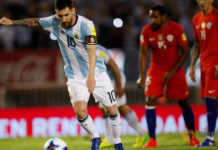 football-soccer-argentina-v-chile