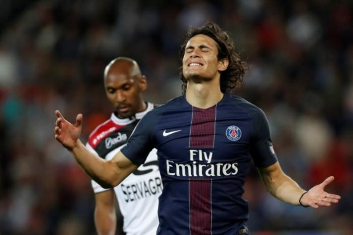 Football Soccer - Paris St Germain - Cavani