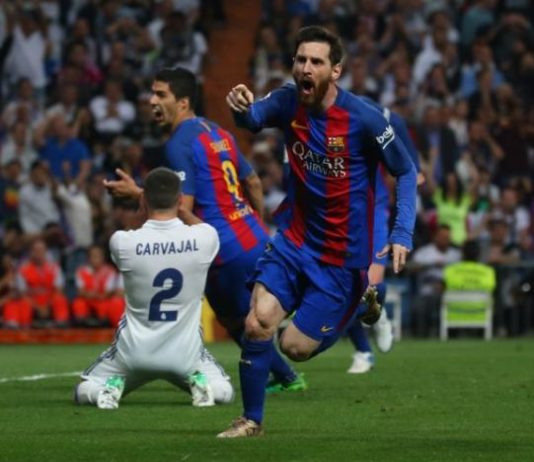Football Soccer - Real Madrid v FC Barcelona