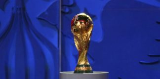 The World Cup 2018 Trophy