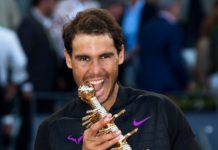 Rafael Nadal wins his fifth Madrid