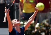 Romania's Simona Halep in Italian open final