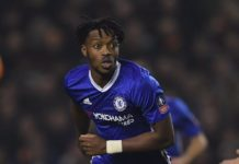 Chelsea midfielder Nathaniel Chalobah