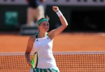 Jelena Ostapenko became the first Latvian Grand Slam finalist