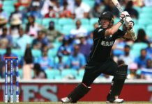 New Zealand wicket-keeper Luke Ronchi