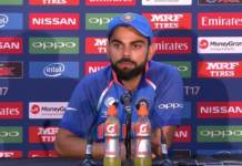 Virat kohli post press conference
