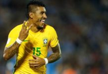 Football Soccer - midfielder Paulinho
