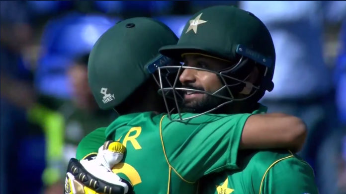 pakistan beat england in champions trophy