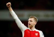 Arsenal captain Per Mertesacker