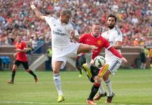 Manchester United defeated Real Madrid