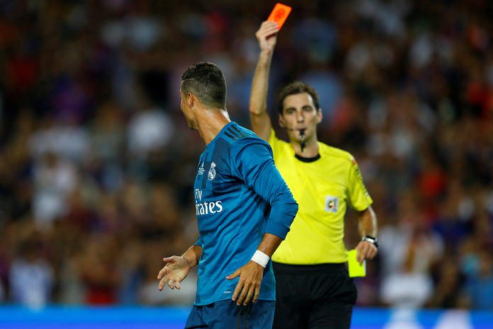 Ronaldo hit with five-match ban