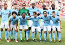 Man city team