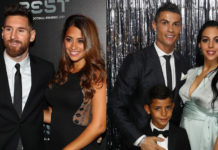 Messi-and-ronaldo-with-their-wife