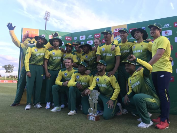 South Africa beat Bangladesh by 83 runs in the 2nd T20