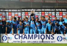 India beat sri Lnaka odi series 2017