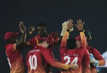 Zimbabwe beat sri lanka in tri series