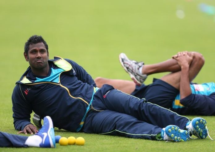 Sri lanka cricket Angelo Mathews