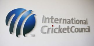 The International Cricket Council (ICC) logo