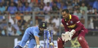Cricket - West Indies v India - World Twenty20 cricket tournament semi-final