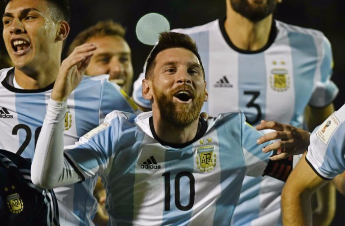 argentina qualify for world cup 2018