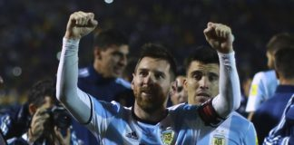 argentina qualified wolrd cup messi hat trick