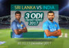 India v Sri Lanka 3ODI series