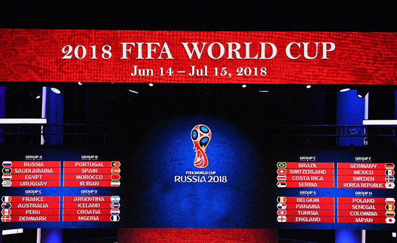 2018 Fifa World Cup Russia Fixtures