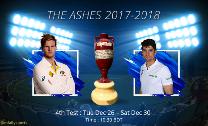 4th Ashes test