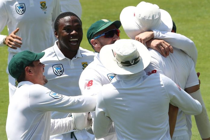 South Africa defeated India by 135