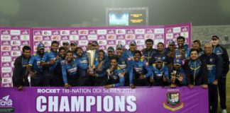 Sri lanka beat bangladesh in tri series