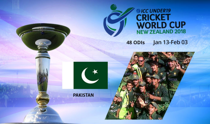 pakistan u19 cricket schedule