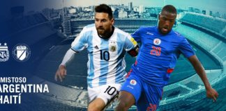 argentina v haiti friendly match match