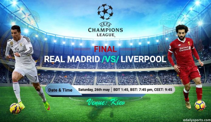 real madrid vs liverpool Champions League final match