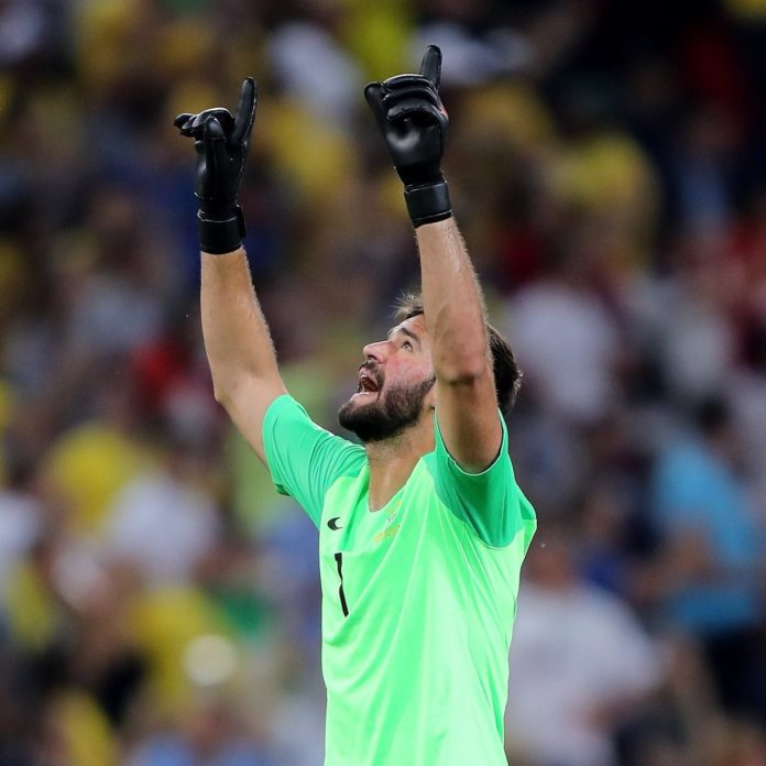 Alisson Becker join liverpool