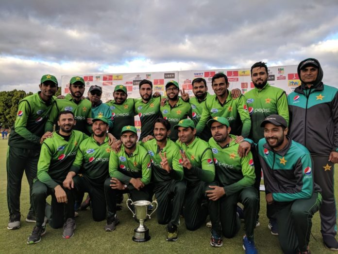 Pakistan beat Zimbabwe in ODi sereis